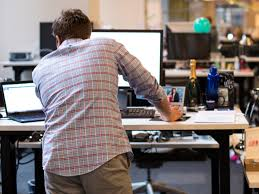the best office desk. facebook offic tour ny lean in working work standing desk the best office