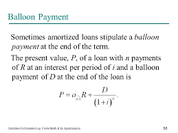 The Mathematics Of Finance Ppt Download