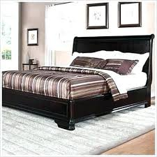 wooden sleigh bed frame queen platform used big lots king size beds for home improvement