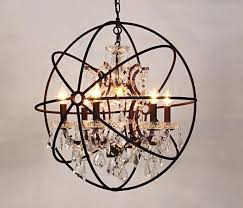 full size of living alluring crystal globe chandelier 16 table lamp black vintage hanging lighting orb