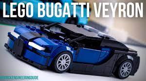 Lego bugatti veyron 16.4 speed champions moc + instructions. Lego Bugatti Veyron 16 4 Speed Champions Moc Instructions Youtube