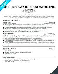 Accounts Payable Manager Resume Enchanting Accounts Payable Resume Example Australia Template Templates And