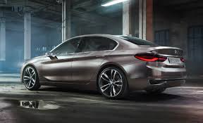 Bmw Concept Compact Sedan The Front Drive Bimmer Sedan Is Upon Us