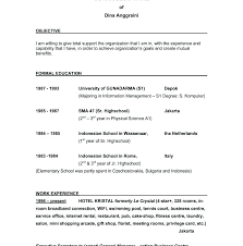cv objectives statement general job objective for resume mollysherman