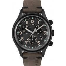 timex mk1 og 42mm leather watch tw2r96500 next