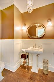 classic elegant white pedestal sink small bathroom ideas