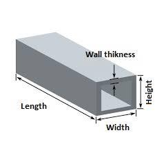 Aluminum Section Weight Chart Metal Weight Calculaleformula Round Aluminium Square