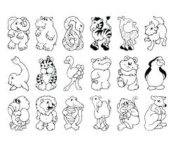 Farm Animals Coloring Pages For Preschool Animal Coloring Pages