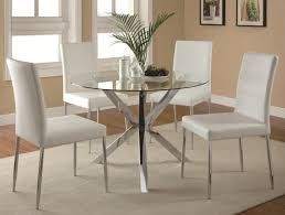 round dining room table for 12 elegant contemporary 5 piece glass top table and chair set
