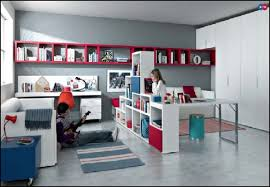 bedroom furniture for teenagers. Unique Bedroom Furniture For Teenagers Idea Red White Blue Teen O