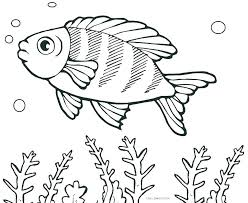 Fish Coloring Sheet Pizzafoodclub