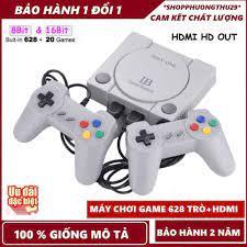 Máy Chơi Game playstation 4 Nút HDMI 628 trò nes+20 trò mới , tay cầm game,ps4-Bảo  hành 24 tháng giá cạnh tranh