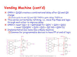 How To Reset A Vending Machine Enchanting Sequential Logic Review Ppt Video Online Download