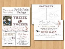 Funny Country Wedding Invitation Wording
