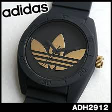 watch store kato tokeiten rakuten global market adidas adidas adidas adidas originals watch new article clock pair watch santiago santiago adh2912 black black gold men