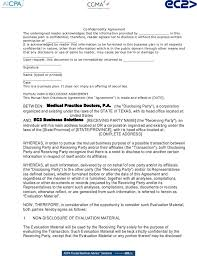 29 Inspirational Employment Agreement Confidentiality Clause ...