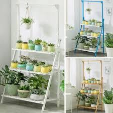 3 tier plant flower pot stand shelf