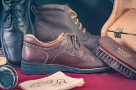 caring for leather shoes and boots