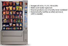 Snack Vending Machines With Card Reader Impressive Vending Machines River City Vending Coffee