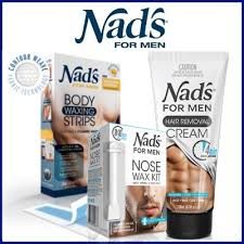 nads hair removal body wax strips cream nose wax for men