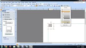 Download Borders For Publisher How To Add A Border In Microsoft Publisher Tech Niche Youtube