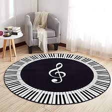 giy soft round area rugs soft living room rug striped carpets children piano bedroom mats outdoor indoor home decor runners 5 x 5