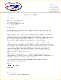 Letter Of Transmittal Example Transmittal Letter Template Free 13