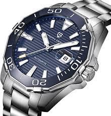 <b>PAGANI DESIGN</b> Mens Automatic Self-Wind Watch with Luminous ...
