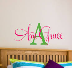 Small Picture Wall Decoration Wall Decal Names Lovely Home Decoration and