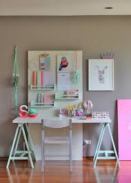 Study table ikea Ikea Hack Diy Kids Study Desk Love This Cheerful Study Space For Kids See The Hative 20 Cool And Budget Ikea Desk Hacks Hative