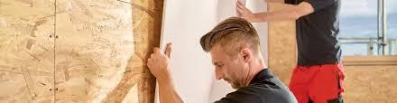 Wer ein neues haus bezieht oder einen neuen bodenbelag (egal ob fliesen, parkett, laminat oder teppichboden) verlegt hat, der passt genau auf und achtet auf jeden. Schneller Beplanken Mit Osb Und Spanplatten Im Innenausbau Ausbaupraxis