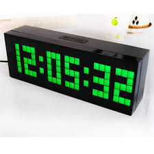 Digital LED Alarm Clock Electric Countdown Timer Wall Desk Table Alarm  Clock Bedroom Snooze Calender Thermometer Dual Alarms New
