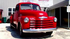 1952 Chevrolet Pickup Truck - Straight 6 - 3 spd Manual - Nice ...