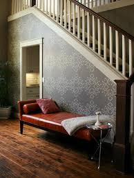 striking stenciled staircase