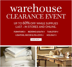 Pottery Barn Furniture & Home Accessories New York Warehouse