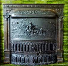 the insert in all it s glorious detail it is a coal burning fireplace