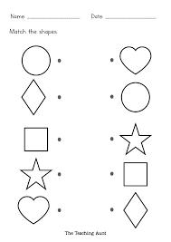 Shape identification preschool shapes worksheets for kindergarten. Kids Printable Shape Recognition Worksheets Preschoolers Learning Shapes Baby Toddler Toys Toys Games Keyforrest Lt