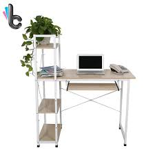 computer desk pc laptop table with shelves home study office furniture