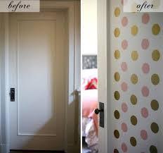 Room Door Decorations For Girls Bedroom Makeover With Decals Via Mylifeatplaytime And Design Inspiration
