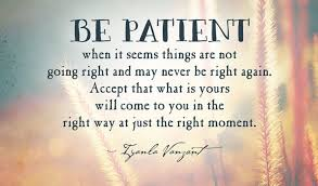 Patience Is A Virtue Quote Simple Quotes About Patience And Success Patience Is A Virtue Quote Be