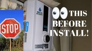 Ecosmart Tankless Water Heater Sizing Chart Ecosmart Tankless Water Heater Install The Right Way Eco Smart
