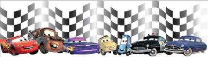 disney cars border wallpaper