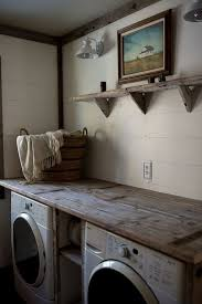 Laundry Room: Industrial Rustic Laundry Room Ideas - Vintage Laundry Room
