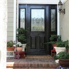 front doors with side panels28 best Front Door images on Pinterest  Black front doors Front