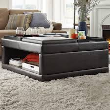 storage cocktail ottoman. Gorgeous Cocktail Storage Ottoman With St Ives Flip Tray Inspire Q R