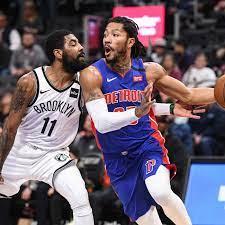Pistons vs. Nets final score: Kyrie ...