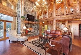Log Cabin Living Room Unique Log Cabin Living Room Home Design Ideas