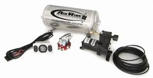 control systems ridetech com suspension specialist online store 2 way analog compressor package