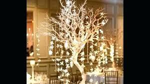tree branch chandelier crystal