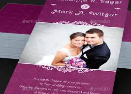 Wedding Card Template Amazing Wedding Invitation Card With Photo Kubreeuforicco